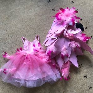 Pottery Barn Kids flamingo girls costume 3t